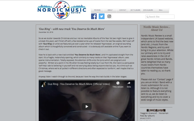 nordic music reviews