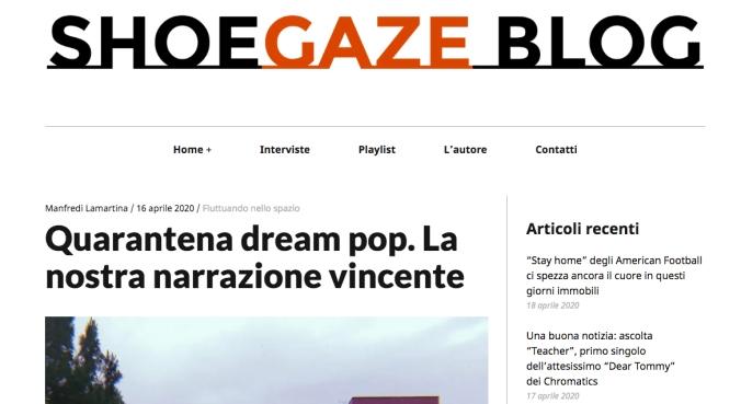 Shoegaze blog